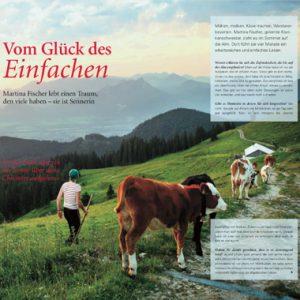 Martina Fischer Alm Presse Vom Glück des Einfachen